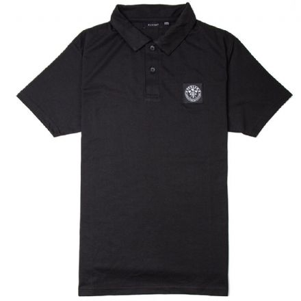 "Senlak ""Cenric"" Polo Shirt - Black"